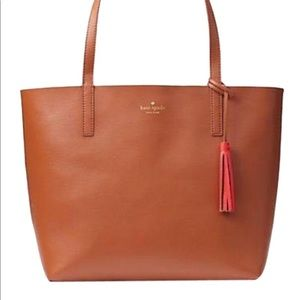 Kate Spade Reversible Tote Leather Satchel